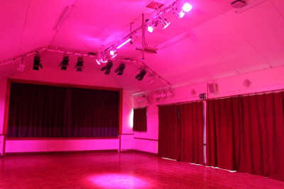 Hall LED lighting 2
